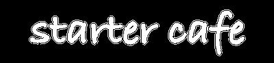 Logo Starter Cafe by 3 Mini Monsters