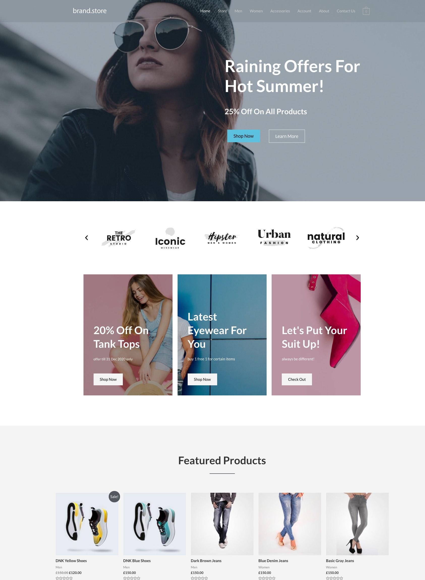 Starter BrandStore
