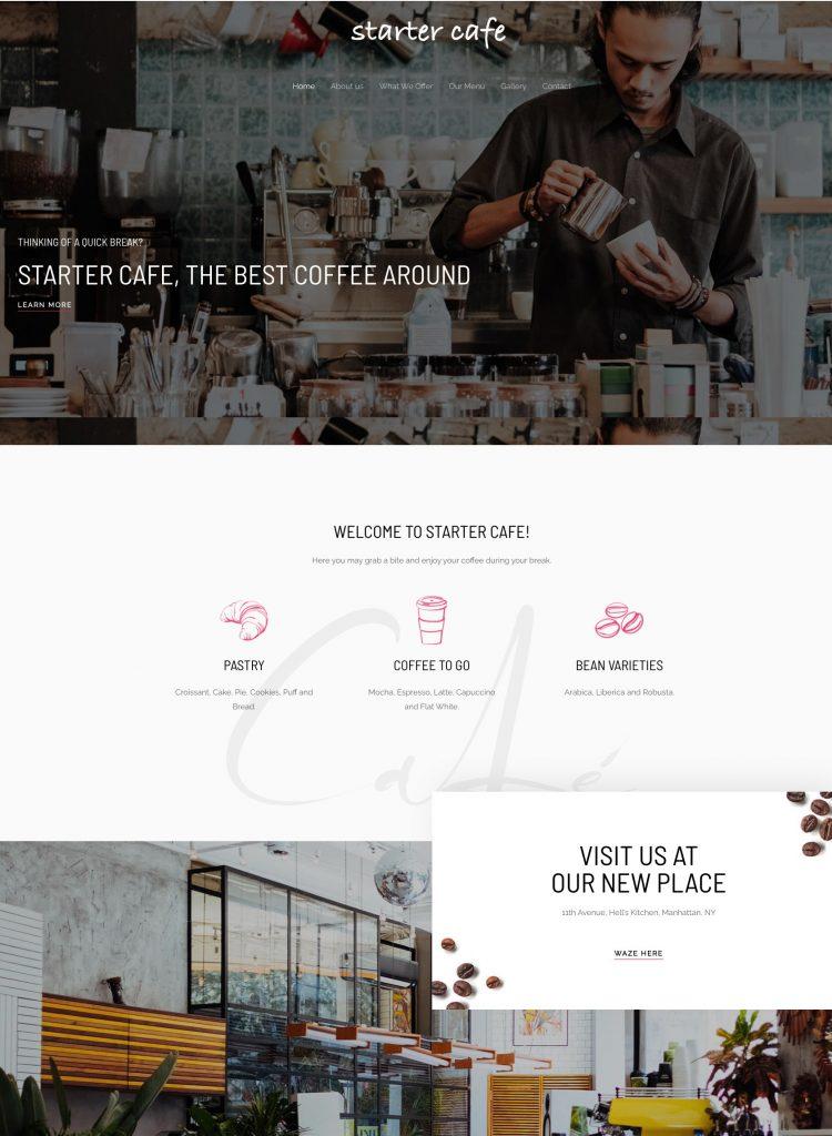 Starter Cafe