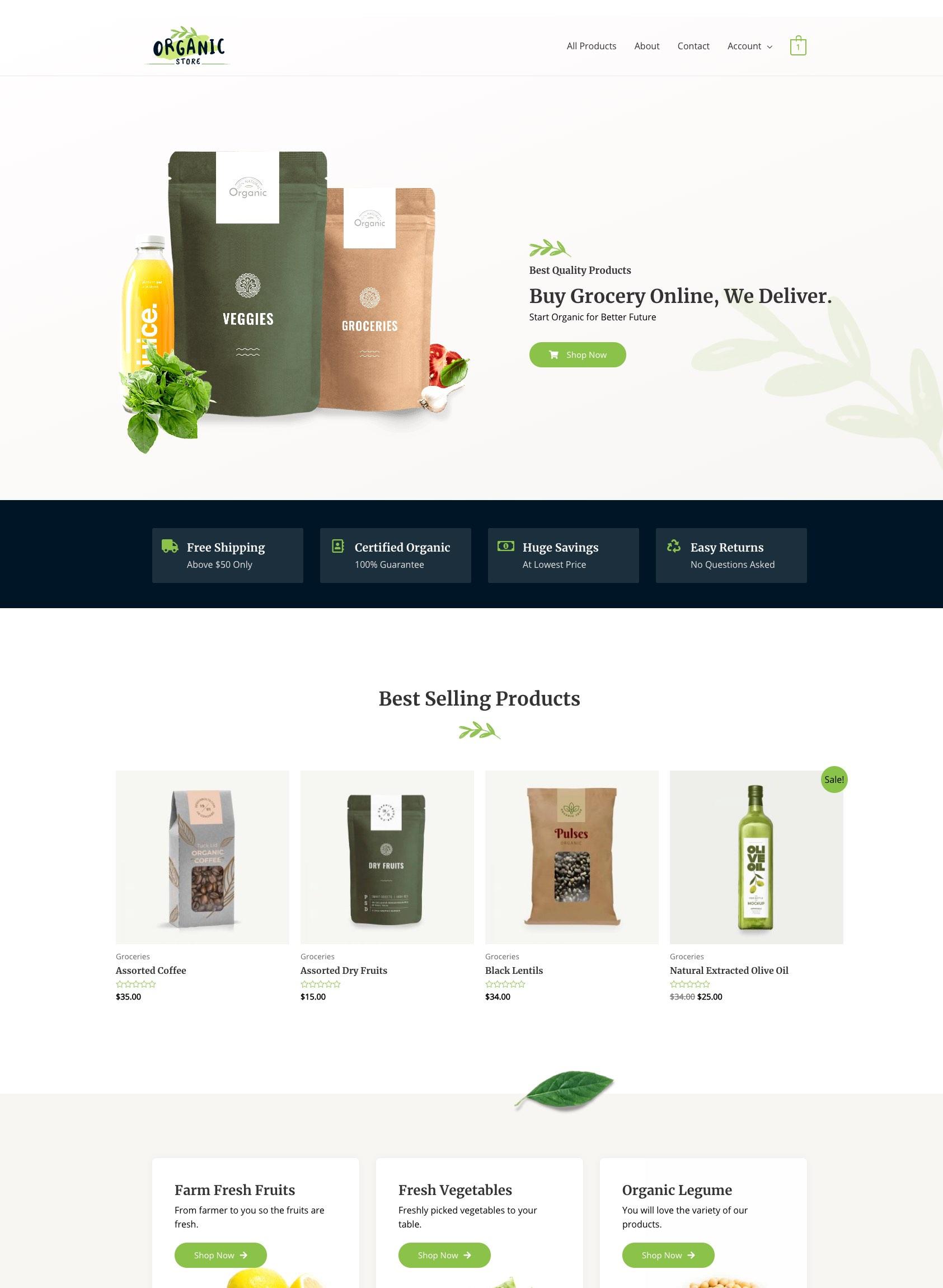 Starter GroceryStore