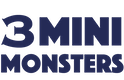3 Mini Monsters Logo